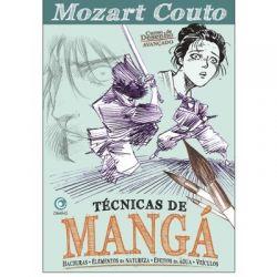 Técnicas de mangá: Hachuras - elementos da natureza - efeitos de água - veículos - Mozart Couto