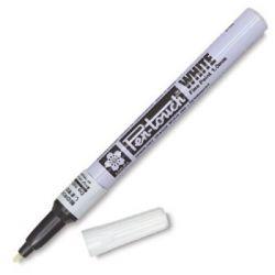 Canetas Pen-Touch 1.0mm Branca, Prata, Ouro e Preta