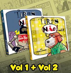 PROMOÇÃO Tiras Não! Vol.1 + Vol.2