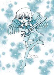 Blue Angel - Print (Poster) de Valéria Yuuki