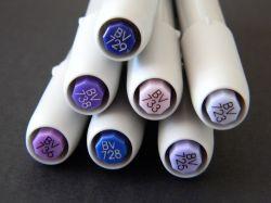 Marcador Le Plume Avulso Azuis Violetas [BV]