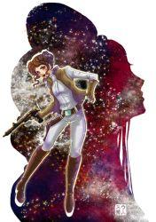 Princess Leia - Print (Poster) de Suu Hideto