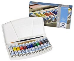 Kit Aquarela Bisnaga Van Gogh 12 cores