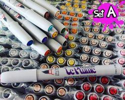 Le Plume Set A: 78 canetas marcadores
