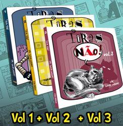 PROMOÇÃO Tiras Não! Vol.1, 2 e 3