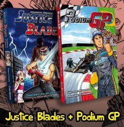 PROMOÇÃO Podium GP + Justice Blades