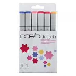 KIT COPIC SKETCH 6 CORES Floral Favorites 2