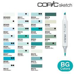 Copic Sketch Blue Green (BG)