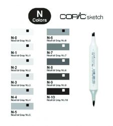 Copic Sketch Neutral Gray (N)