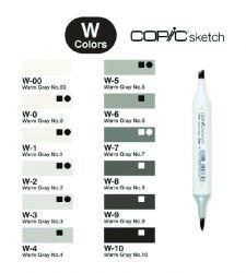 Copic Sketch Warm Gray (W)