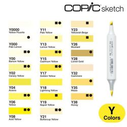 Copic Sketch Yellow (Y)