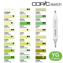 Copic Sketch Yellow Green (YG)