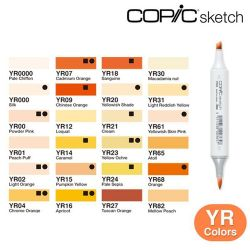 Copic Sketch Yellow Red (YR)