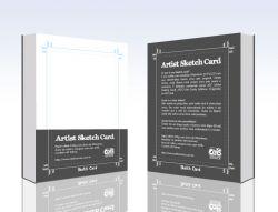 Sketch Card papel especial Crás Editora