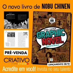 Graphic Novel - Conceitos Básicos - Nobu Chinen Ed. Criativo