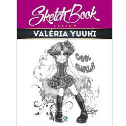 Sketch Book Custom: Valéria Yuuki